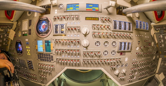 The final control panel.