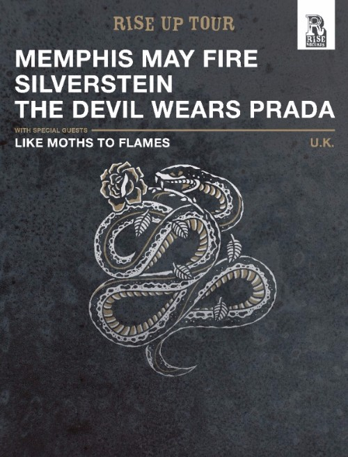 Memphis May Fire EU Tour 2016