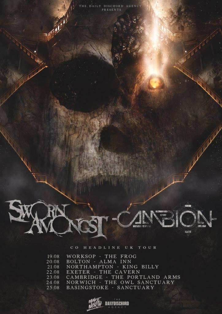 Sworn Amongst UK Tour 2016