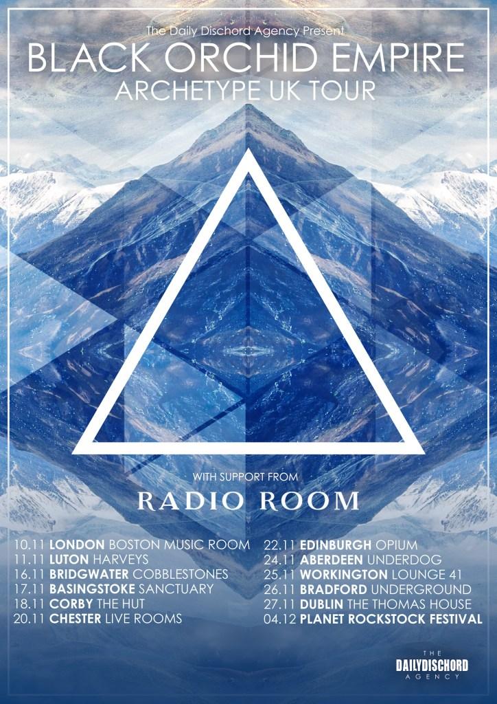 Black Orchid Empire UK Tour