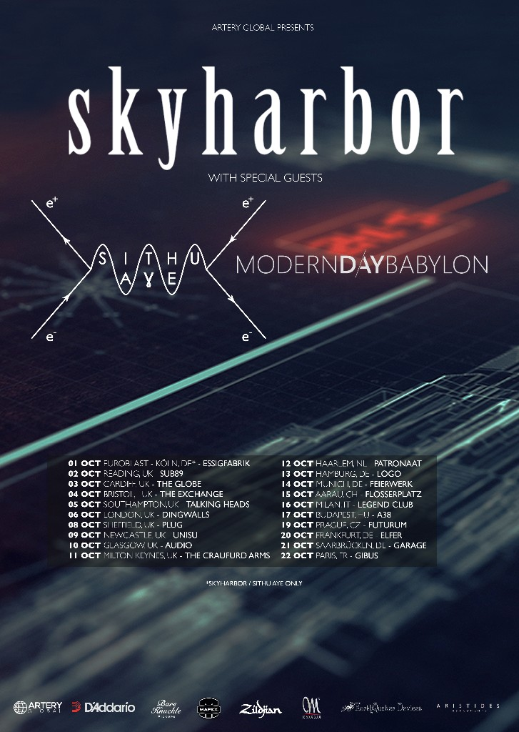 Skyharbor EU tour