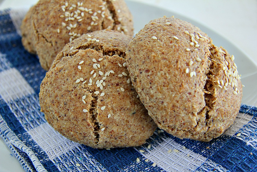 Amazing Bread Rolls - Low Carb & Gluten Free