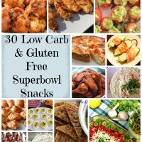 30 Low Carb & Gluten Free Superbowl Snacks