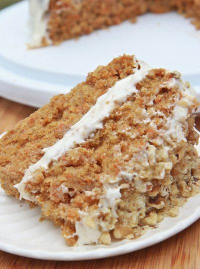 Moist & Fluffy Gluten-Free Carrot Cake Recipe   Divas Can Cook