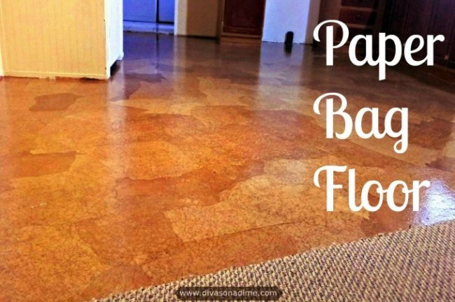 Paper Bag Floor Step By Step Tutorial How To Make A Paper