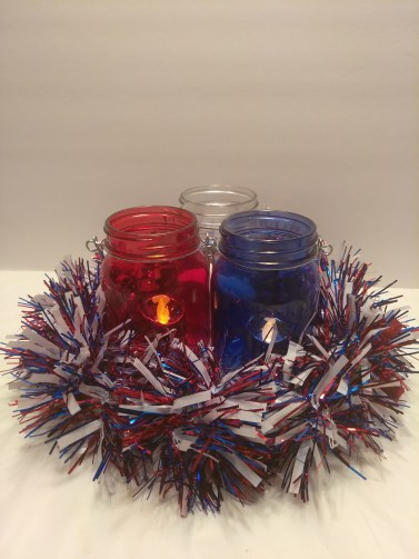 iy Dollar tree 4th of July Decor centerpiece decorations pinterest patriotic usa america independence day craft