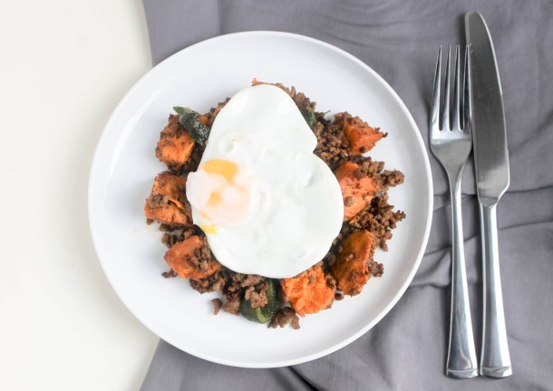 Beef and Sweet Potato Hash by Diverse Dinners