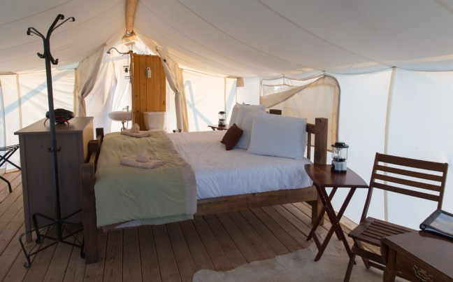 Deluxe Safari Tent Photo by Jack Burke
