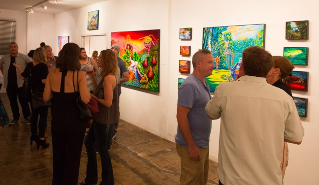 "Gabba Gallery's ""Four View"" solo exhibitions - All photos: Jack Burke"