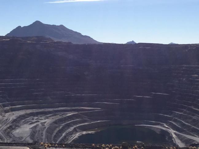 ajo mining pit