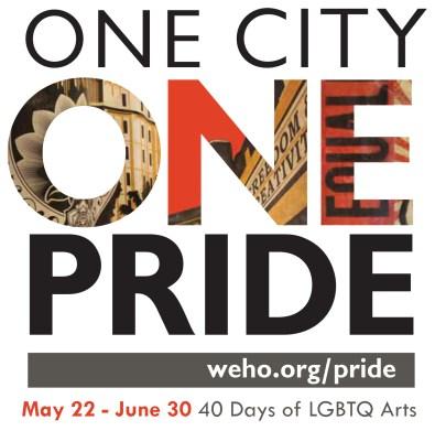 2016 One City One Pride Logo