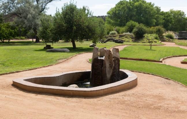 Santa Fe Sunrise Springs grounds