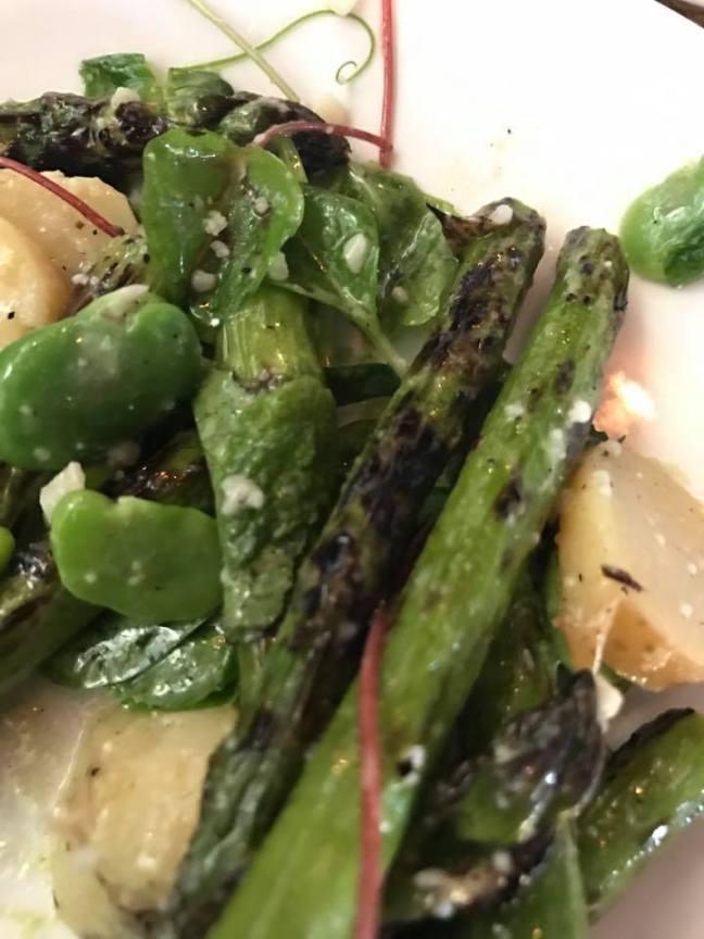 Man house asparagus