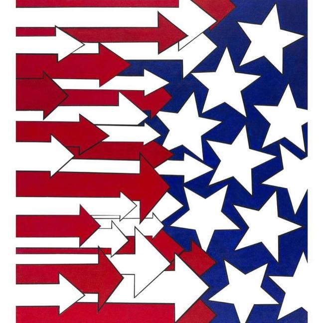 gabba american stripes