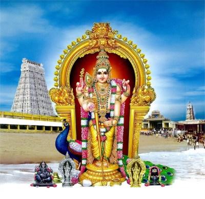Lord Thiruchendur Murugan HD Images & Wallpapers - DivineInfoGuru.com