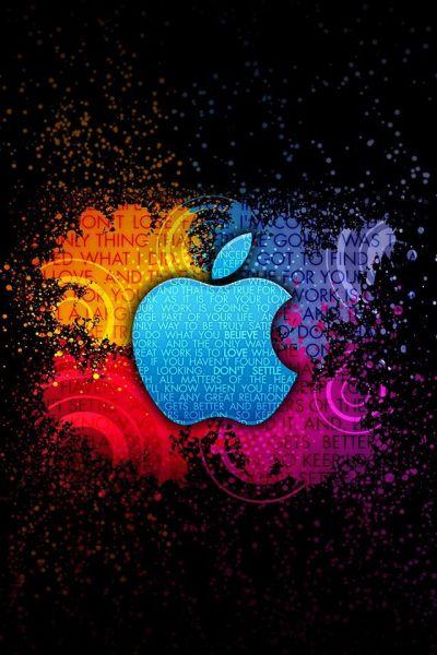 Apple(タイポグラフィ) | iPhone壁紙ギャラリー
