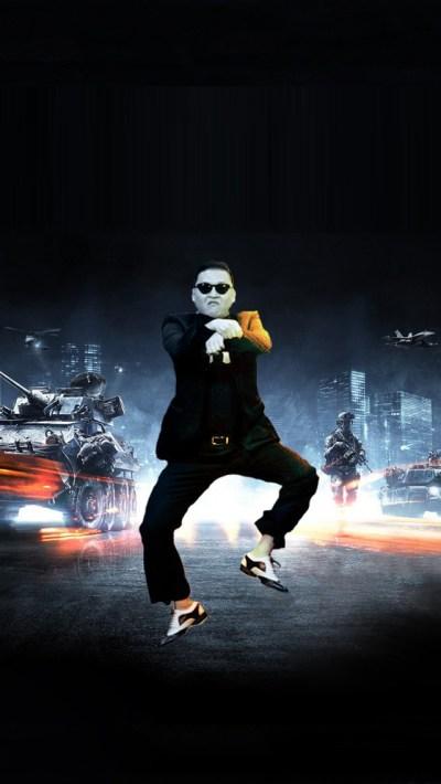 Gangnam Style Psy Battlefield iPhone 5 Wallpaper Download | iPad Wallpapers & iPhone ...