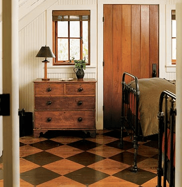 country living painted floors