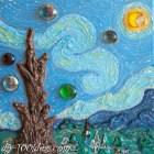 DIY Van Gogh Starry Night