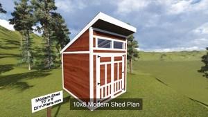 Modern Shed Plans