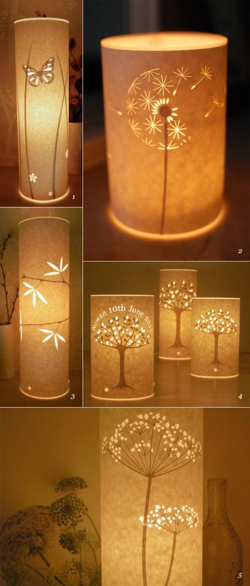Paper Cut Lamps