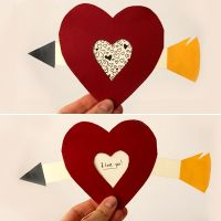 DIY Pull Tab Valentine's Day Card