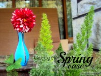 Upcycle Painted Spring Vase- Tutorial – Craftionary
