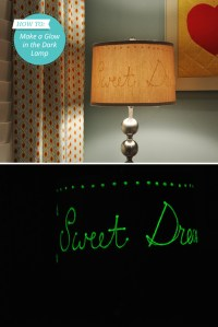 DIY Glow in the Dark Lamp | From Momtastic