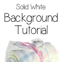 Photoshop Tutorial: Create a Solid White Background