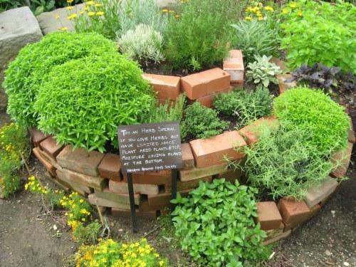 Medium Of Vertical Herb Garden Plans