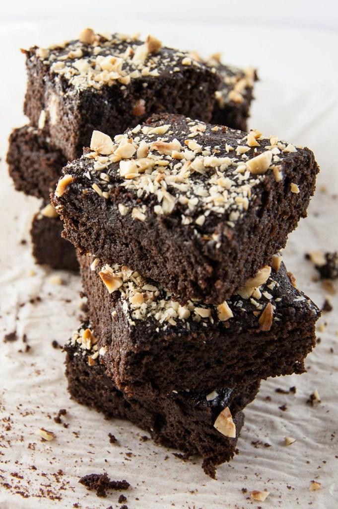 Grain-Free Chocolate Hazelnut Brownies