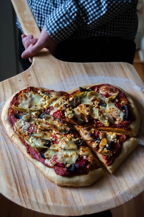 Valentine's Day recipe idea: Make heart-shaped pizza