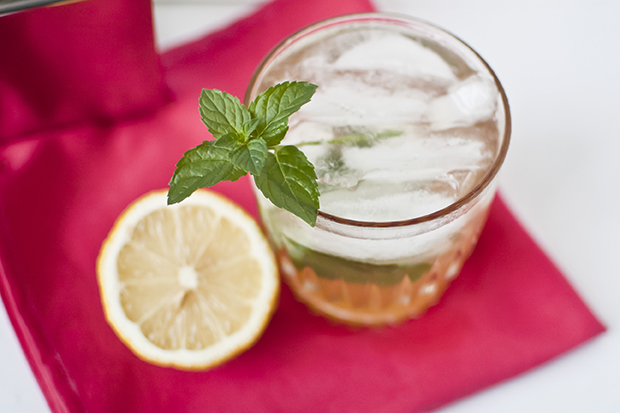Honey Mint Lemondrop Cocktail Recipe