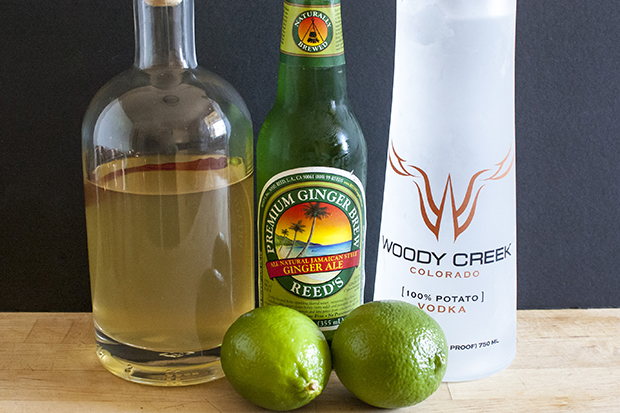 spicy moscow mule cocktail recipe