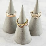 How to Make Concrete DIY Ring Cones