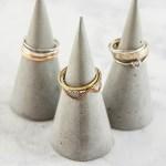 How to Make Concrete DIY Ring Cones
