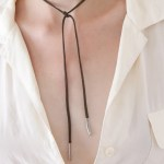 How to Make a DIY Bolo Wrap Necklace