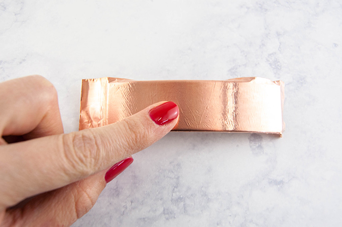 DIY Copper Hair Clip