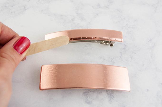 DIY Copper Hair Clip