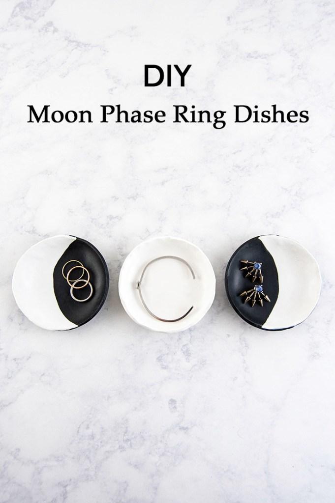 Moon Phase DIY Ring Dish