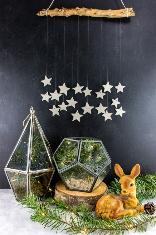 Wall Decor With Clay : Ways to make a holiday clay star wall hanging