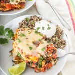 These black bean and squash veggie enchiladas are vegan and gluten-free, but full of flavor