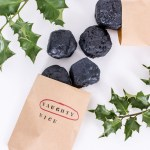 Make lump of coal soap for that person who made it onto the naughty list this year. #DIY #gift #holidays #Christmas #soap #DIYGift