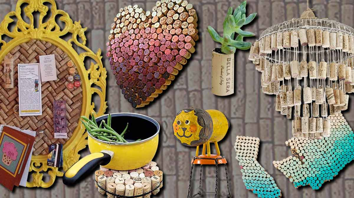 Enticing Love Easy Crafts Home Decorating Wine Cork Crafts Fall home decor Easy Crafts For Home Decor