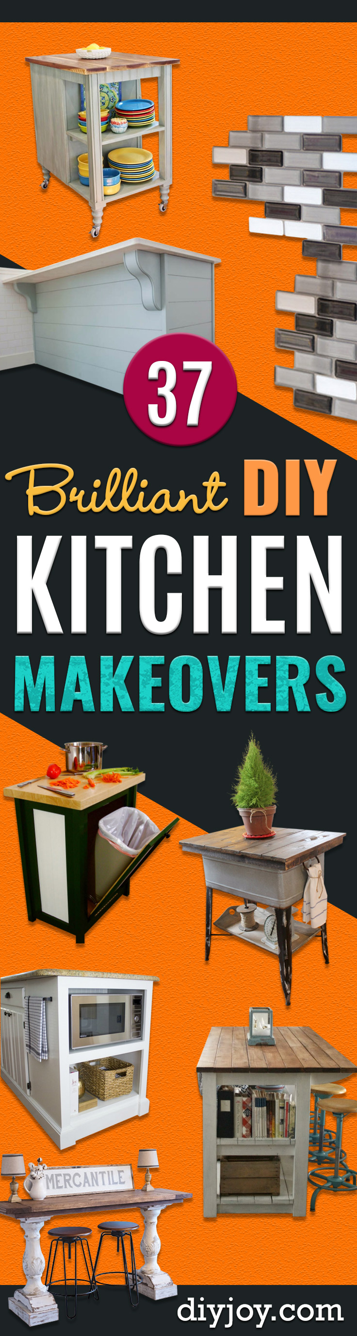 diy kitchen makeovers kitchen makeover ideas DIY Kitchen Makeover Ideas Cheap Projects Projects You Can Make On A Budget Cabinets