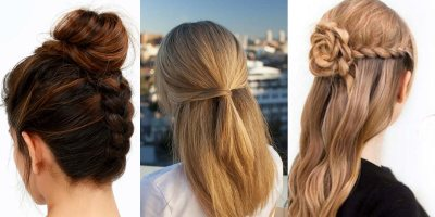 41 DIY Cool Easy Hairstyles That Real People Can Actually ...