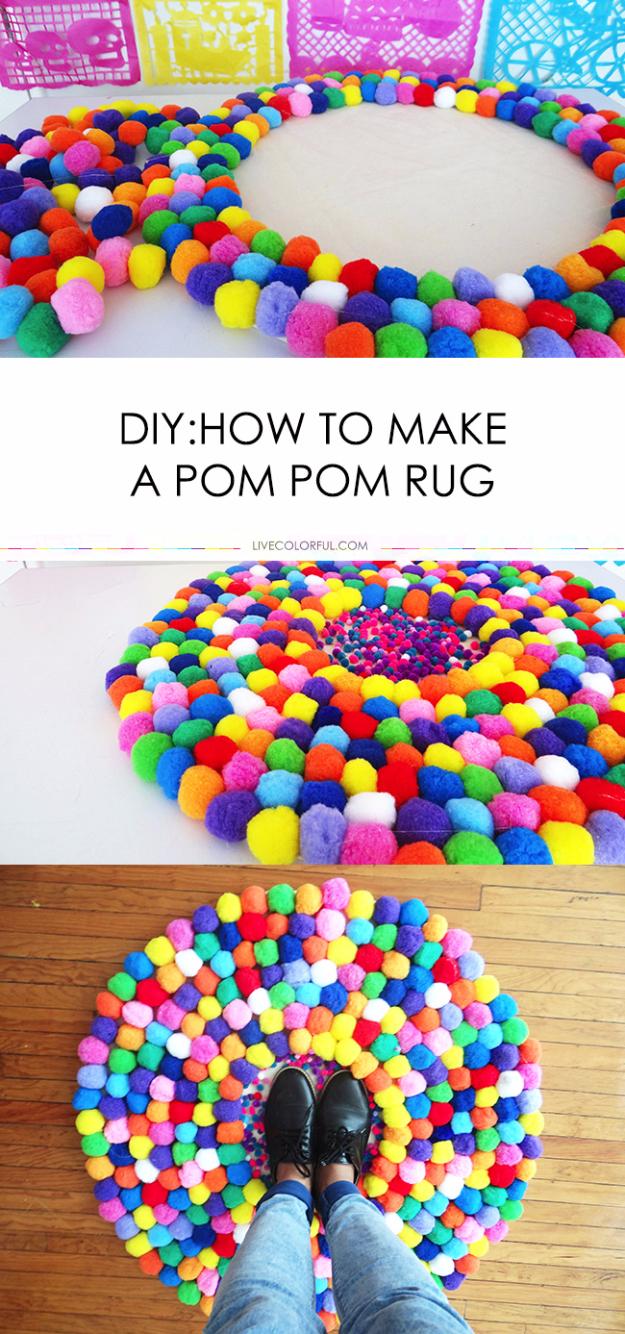 Decent Guys Girls Diy Room Decor Ideas Diy Room Decor Girls Diy Pom Pom Rug Ideas Diy Teen Room Decor Ideas Teen Room Decor Ideas