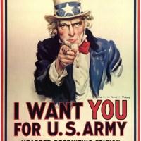 Graphisme // I WANT YOU FOR U.S ARMY détourné!