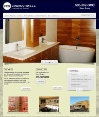 FXG Construction, LLC Website