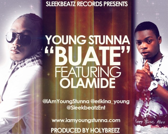 buate young stunna art 1024x819 [#ACE Premiere] Young Stunna ft. Olamide BUATE